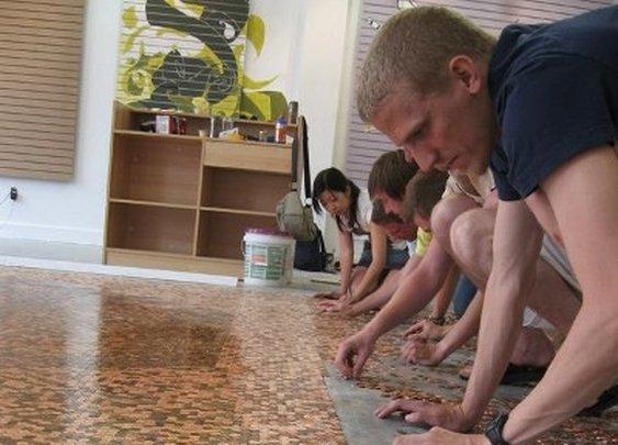 Copper Tile. $1.44 sq/ft  - Imgur