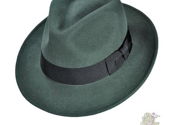 Jaxon C-Crown Crushable Fedora Hat - Village Hat Shop
