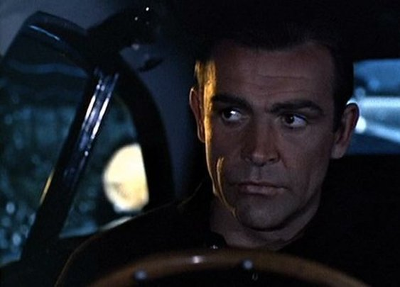 Sean Connery as James Bond/007 in Goldfinger
