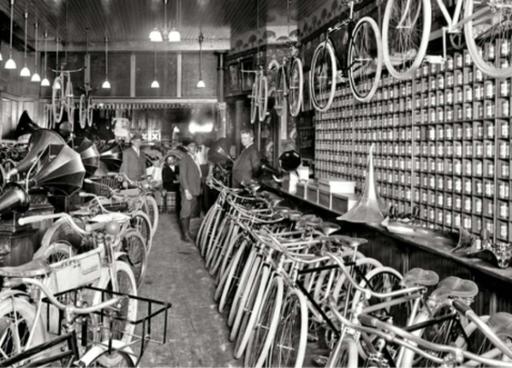 Ye Olde Bicycle Shoppe