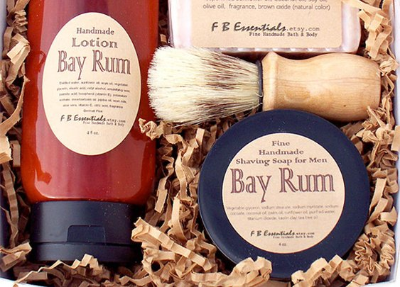 Bay Rum Men's Shaving Set