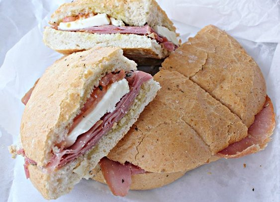 A Sandwich a Day: The Prosciutto Panino at Jimmy's in Dallas, TX | Serious Eats