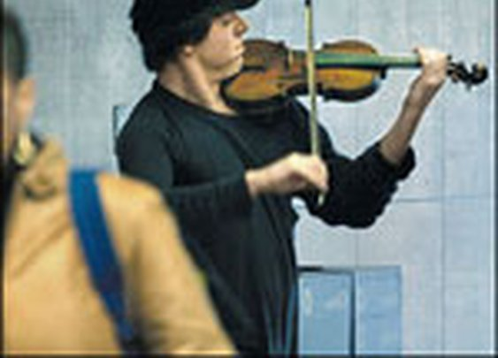 The Story Of The Subway Violinist