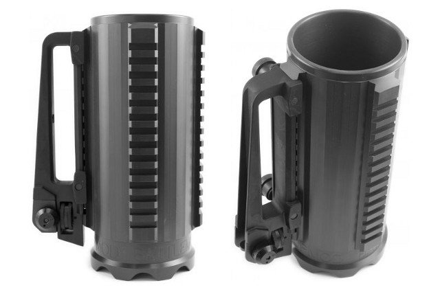 966bde5dbf8 Tactical Beer Mug With Scope Mounts