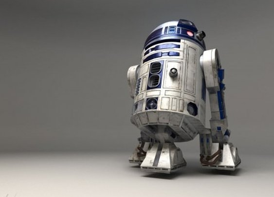 R2D2 was a crude MoFo.