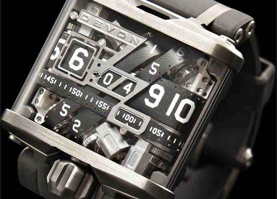 Belt-driven Devon Tread watches - Boing Boing