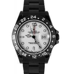 Rolex DLC/PVD Explorer II White Dial