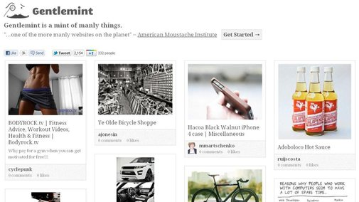 Cool site of the day: Gentlemint, a Pinterest for dudes | Fox News