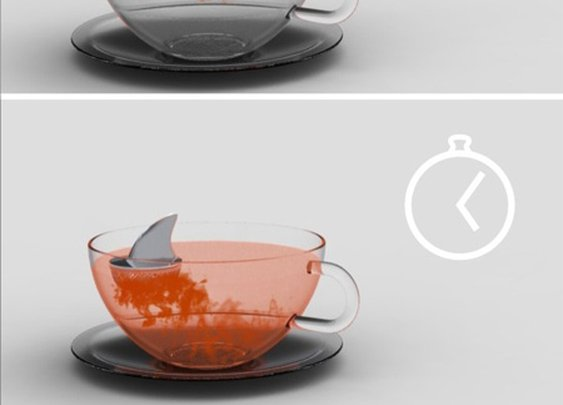 Sharky Tea Infuser by Pablo Matteoda