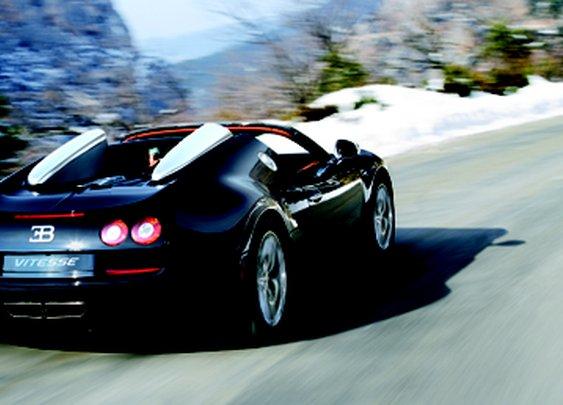 New Bugatti Veyron Grand Sport Vitesse - BBC Top Gear