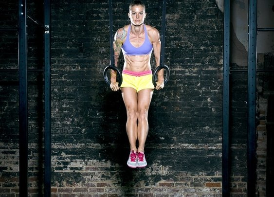 Muscle Up by Christmas Abbott