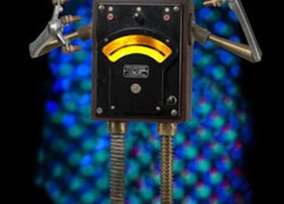 Assemblage Robot Night Light by Talbotics