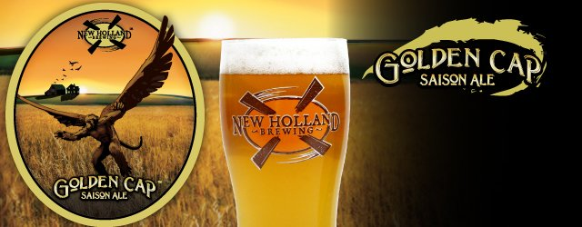 Golden Cap Saison Ale | New Holland Brewing Company