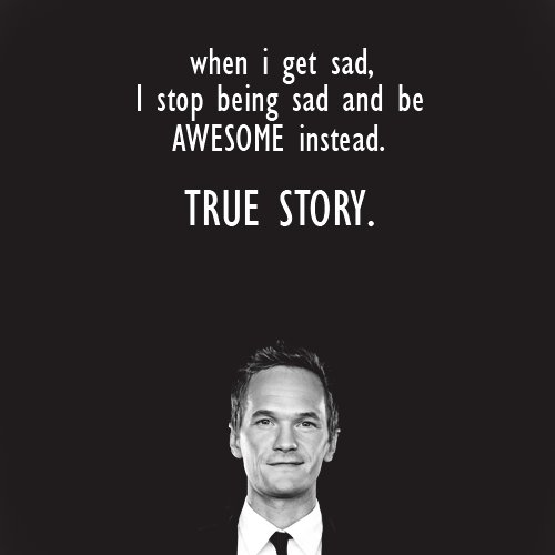when i get sad