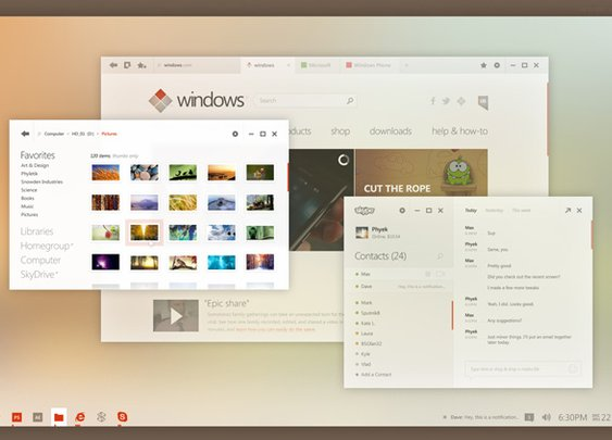 This is what Windows 8 on the desktop should have looked like - GSMArena Blog