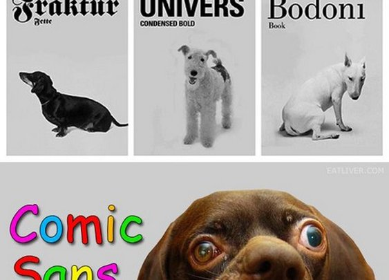 If dogs were fonts | The Poke: