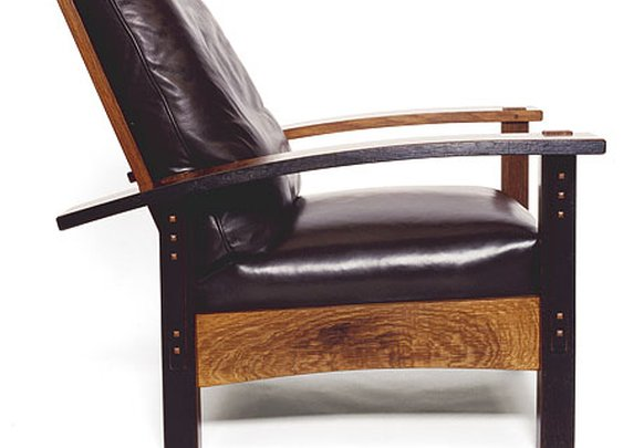 Morris Chair Open | Whit McLeod Furniture