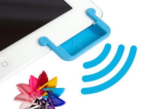 SoundBender: Power-free Magnetic Sound Enhancer for iPad 2