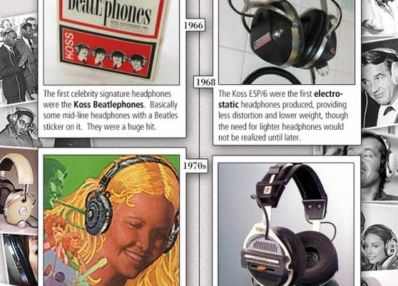 The History of Headphones:  1919-2012  | Apartment Therapy
