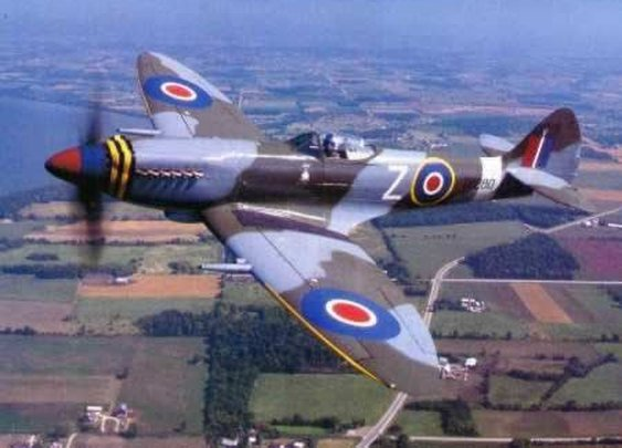 On My Wishlist: To fly a Spitfire!