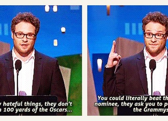 Seth Rogen gets it right. - Imgur