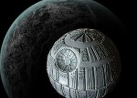 How to Make a Death Star Cake Tutorial on Cake Central on Cakecentral.com
