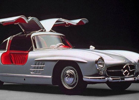 Classic Gullwing Mercedes