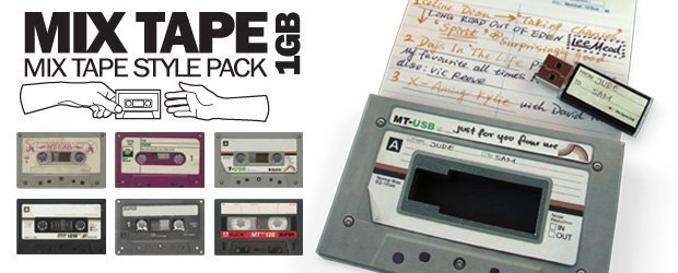 Mix Tape USB Drive | SUCK UK