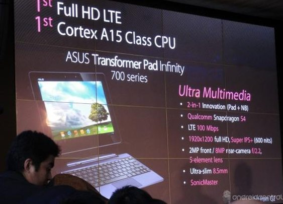 ASUS announces two new Transformer tablets, finally shows off Padfone | Android Central