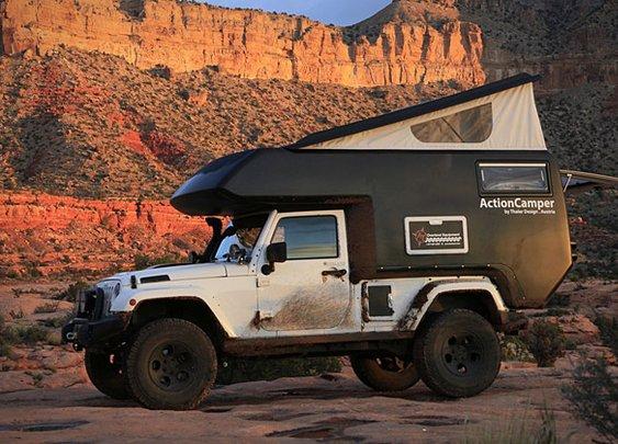 Jeep Action Camper | Uncrate