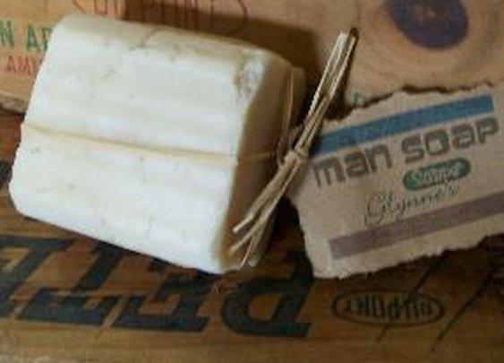 Man Soap - A 12 oz bar of soap
