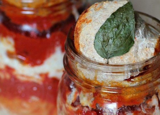 Pizza in a Jar