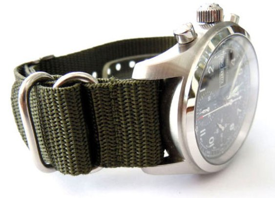 NATO Style Military Nylon Watch Strap