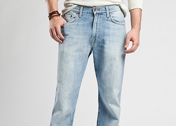 Lucky Brand 181 Relaxed Straight Jeans - Light Blue - Lucky Brand Jeans