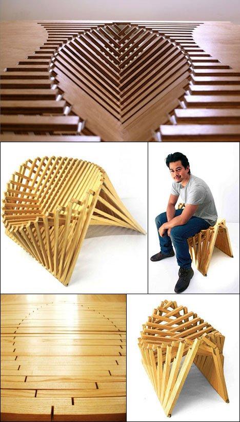 From Sheet to Seat: Robert van Embricqs' Rising Furniture - Core77