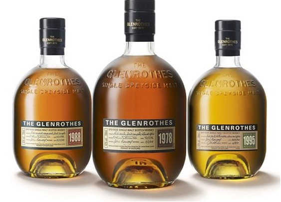 Glenrothes Scotch vintages