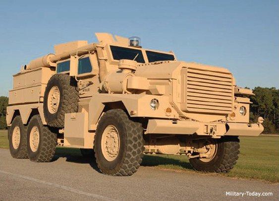 Cougar Mine Resistant Ambush Protected Vehicle