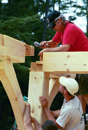 Handcrafted Post and Beam Homes - Goshen Timber Frames