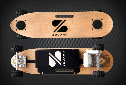 WEIGHT-SENSING ELECTRIC SKATEBOARD
