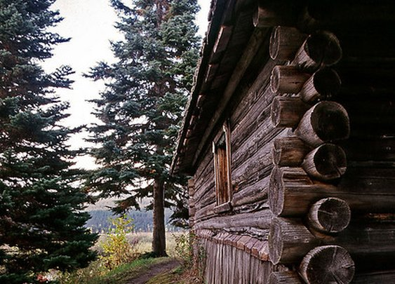 Its a Dads Life, earthsun: Old Trapper's Cabin (by 3lsb3th)