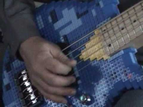 Lego Bass Amazing 5 String Custom Bass Guitar      - YouTube