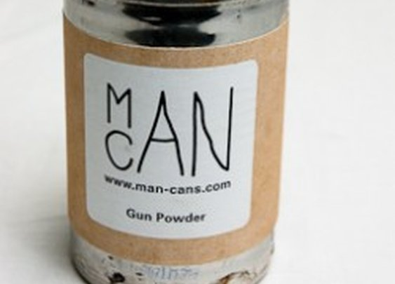 Gun Powder Candle