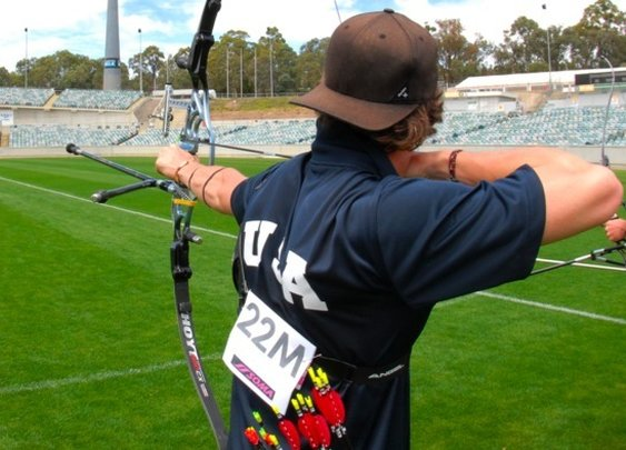 Archer Jake Kaminski Getting Ready for the Olympics