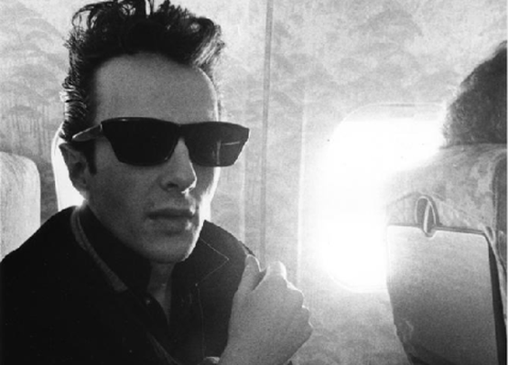 Strummer - Hell, yes. the impossible cool.