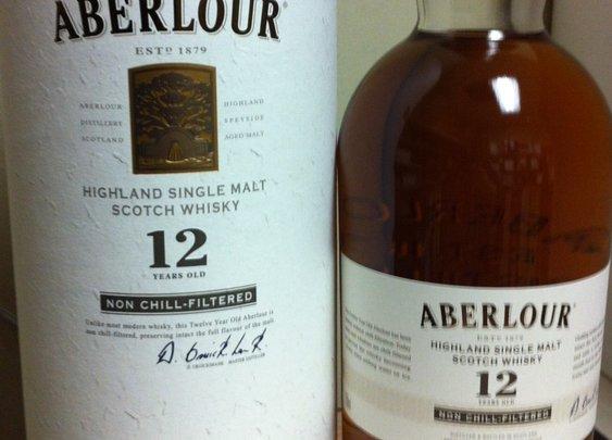 New Aberlour 12 year old Scotch