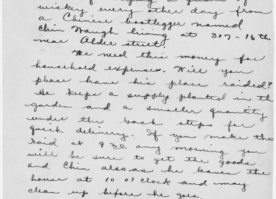 Letters of Note: Will you please have his place raided?