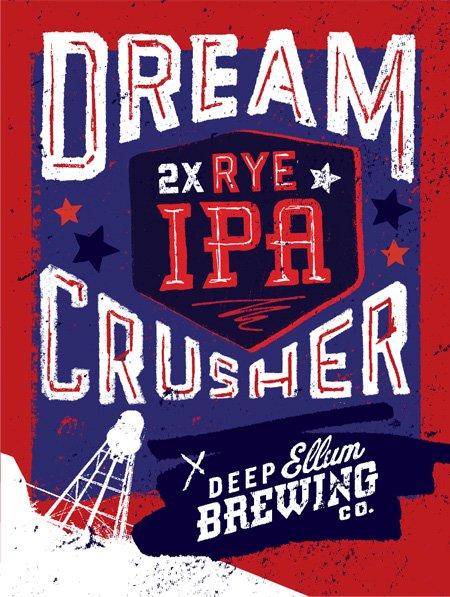Deep Ellum Brewing Company  » DREAMCRUSHER – DOUBLE RYE IPA