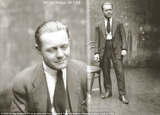They don't make mugshots like this anymore: Amazing police photos of 1920s criminals
