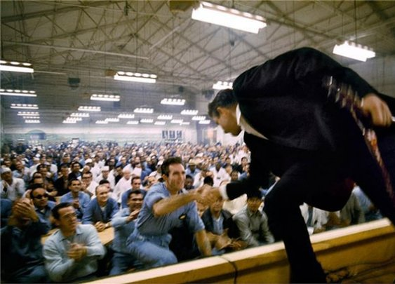 Photos: Intimate, All-Access Shots of Johnny Cash Pictures - At Folsom Prison | Rolling Stone