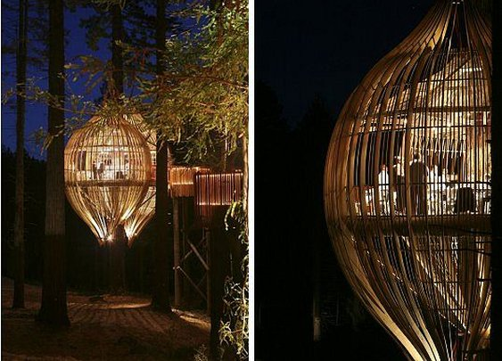 New Zealand's Whimsical Yellow Treehouse Restaurant | Inhabitat - Green Design Will Save the World